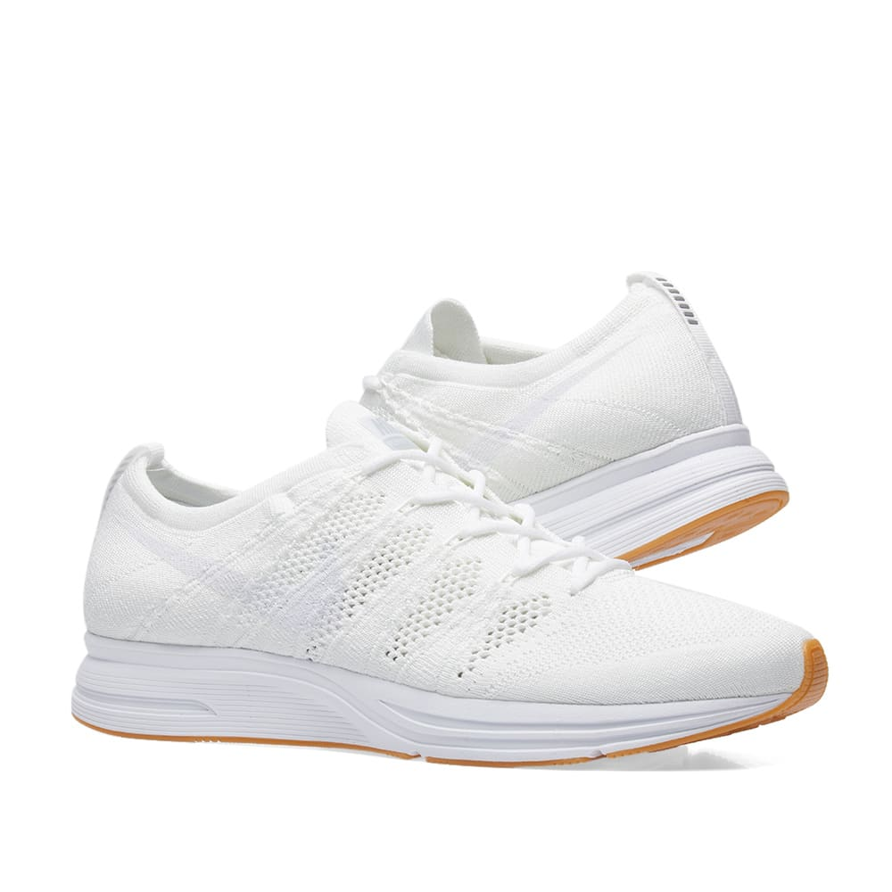 finest selection 45a87 9817c Nike Flyknit Trainer. White   Gum
