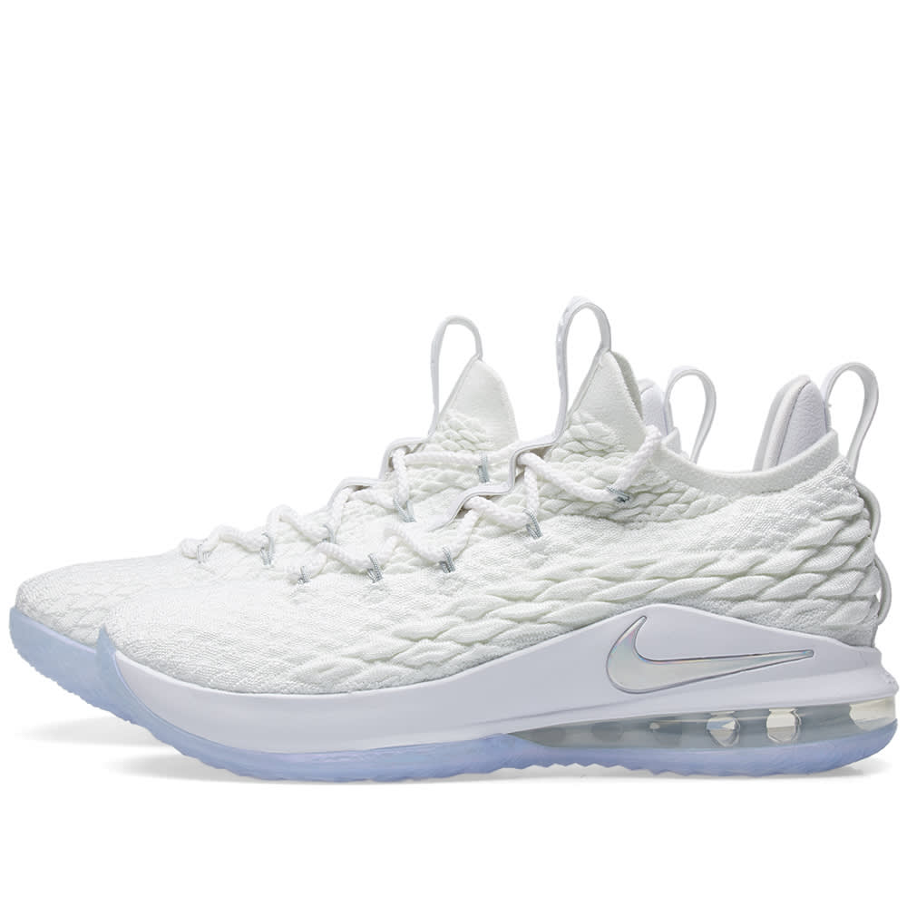 63efe90a28a8 Nike Lebron XV Low White