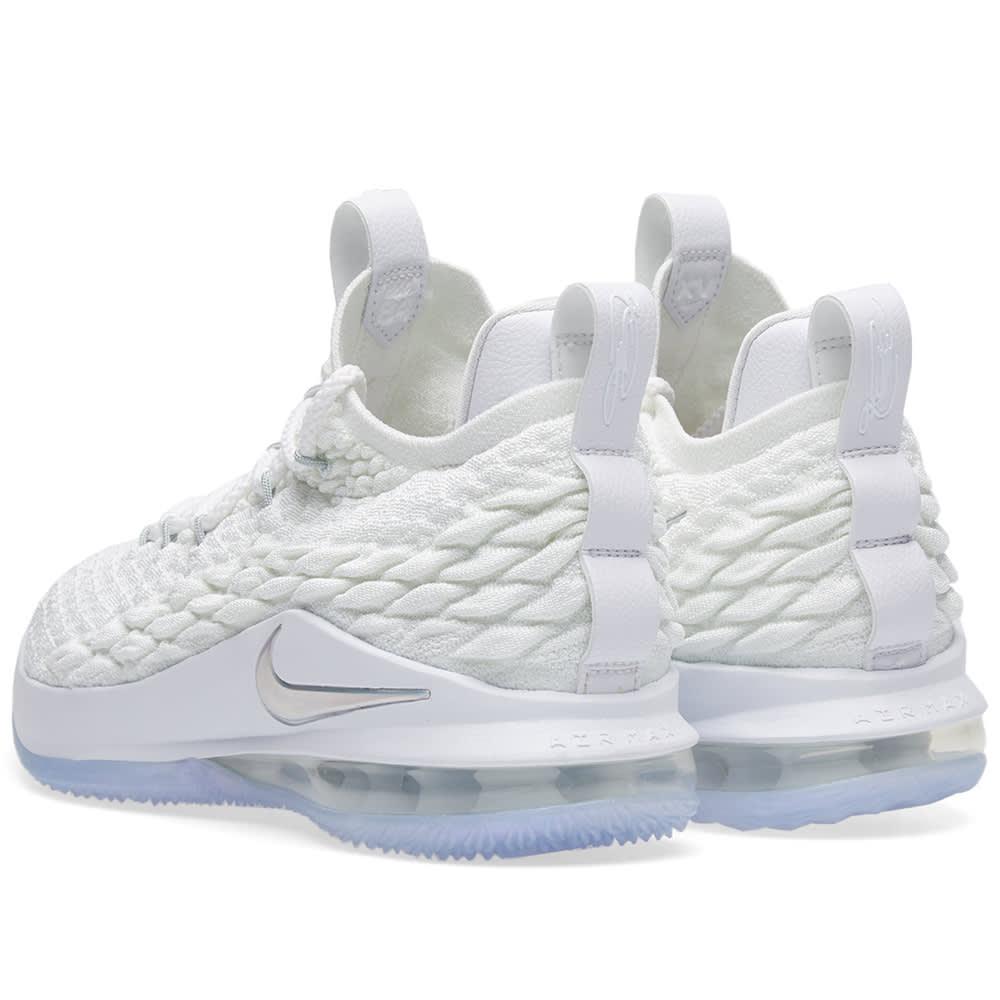 8fff1d409b1 Nike Lebron XV Low White