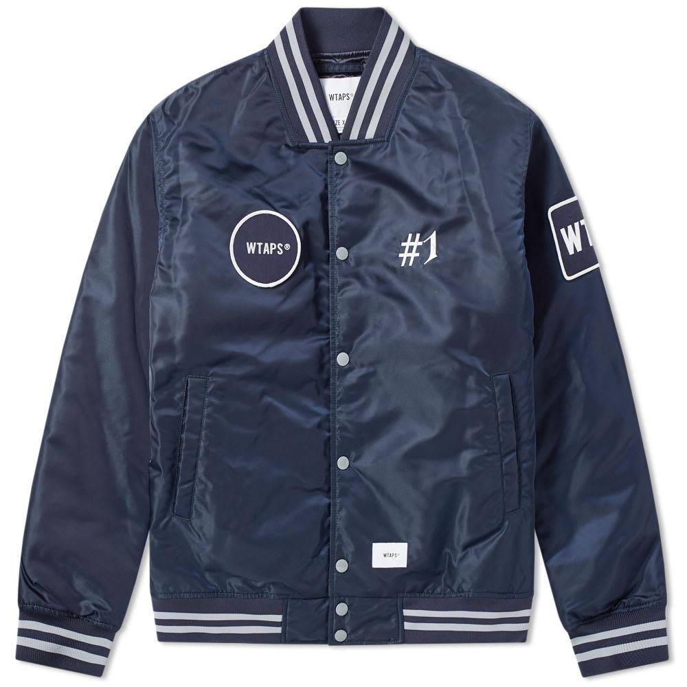 WTAPS Wtaps Bench Jacket in Blue