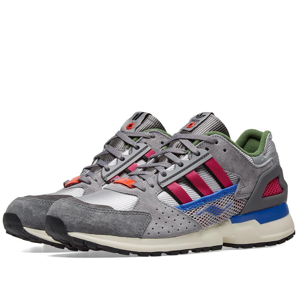 395bbe515ba9a1 Adidas Consortium x Overkill ZX 10000-C Grey