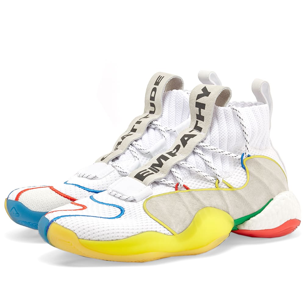 newest e0617 bf9a2 Adidas x Pharrell Williams Crazy BYW LVL X