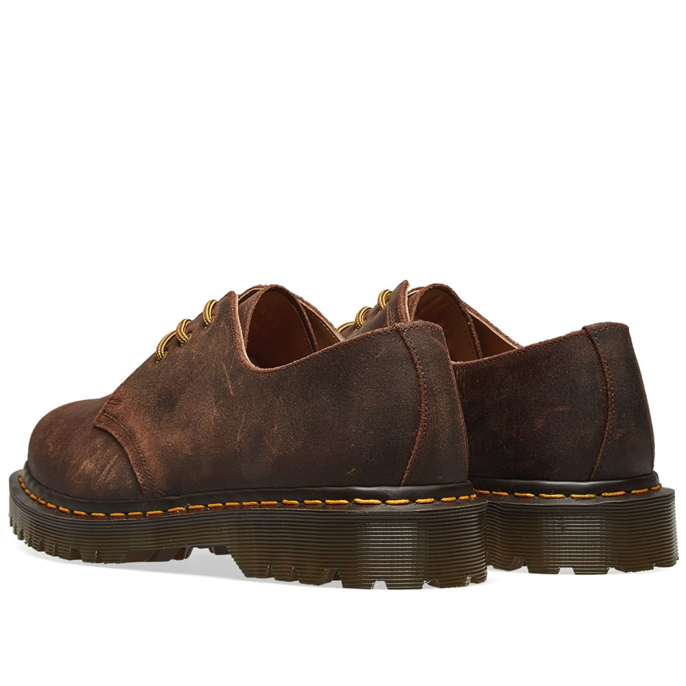 e7f28179ee8 Dr. Martens 1461 Wax Commander Shoe - Made in England Mid Brown
