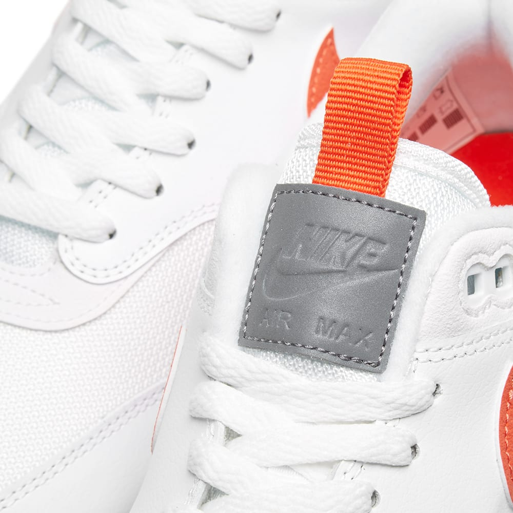 sale retailer d505f 720aa Nike Air Max 1 SE White   Team Orange   END.