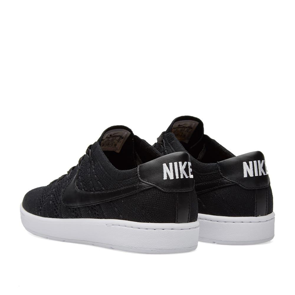 low priced d2e48 b860b Nike Tennis Classic Ultra Flyknit Black, White   Dark Grey   END.
