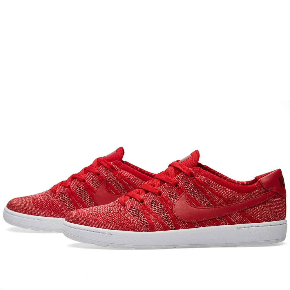 nike tennis classic ultra flyknit gym red sail. Black Bedroom Furniture Sets. Home Design Ideas