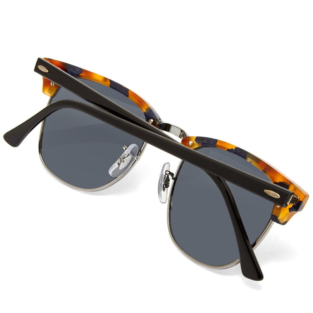 449b0fa230630 Ray Ban Clubmaster Sunglasses Spotted Blue Havana   Grey