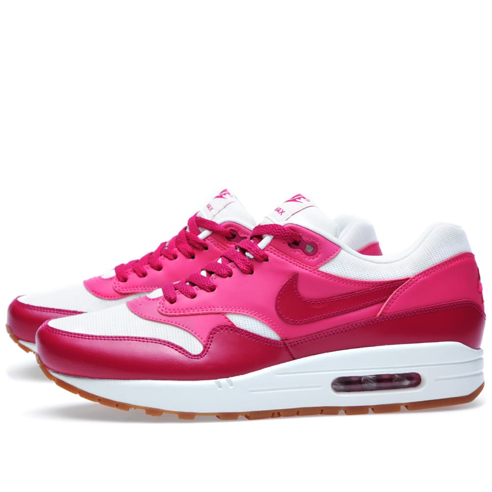 competitive price 40823 13da9 Nike Air Max 1 Vintage Sail   Sport Fuchsia   END.