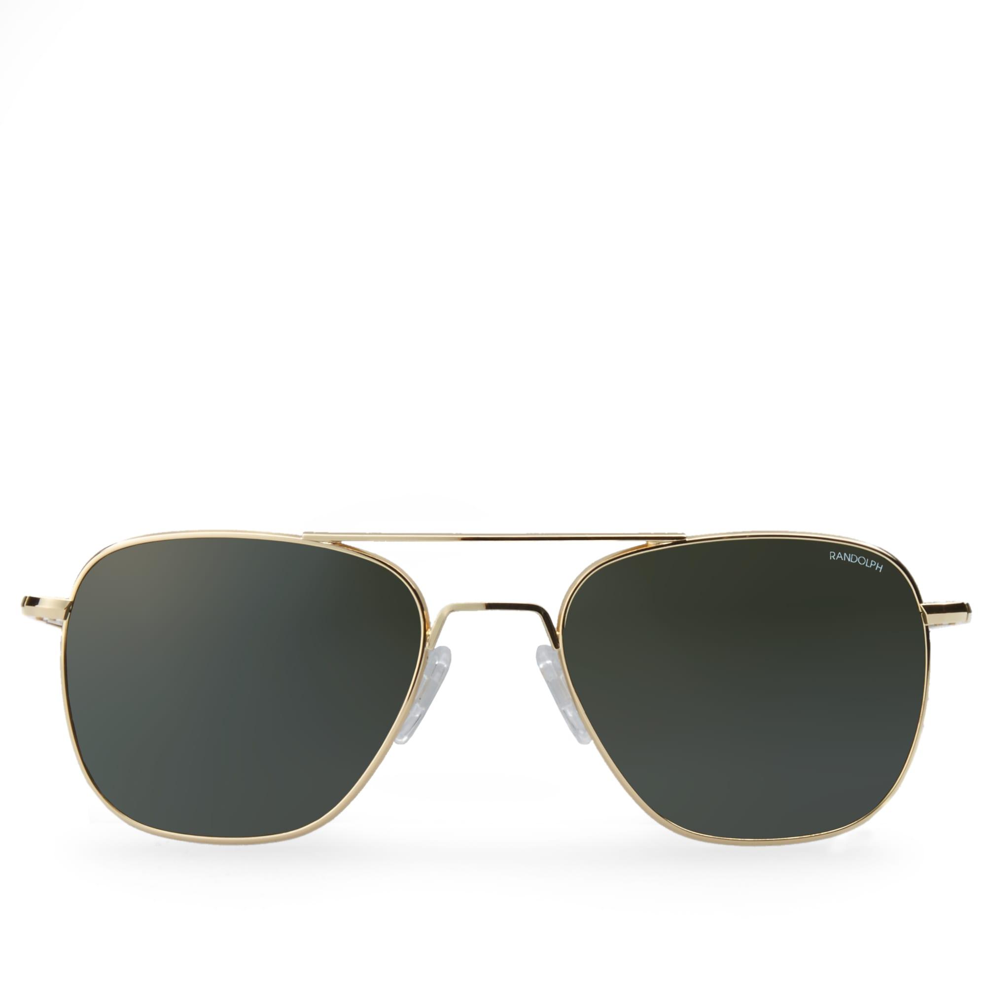 Randolph Engineering Aviator Sunglasses (23K Plated Gold ...