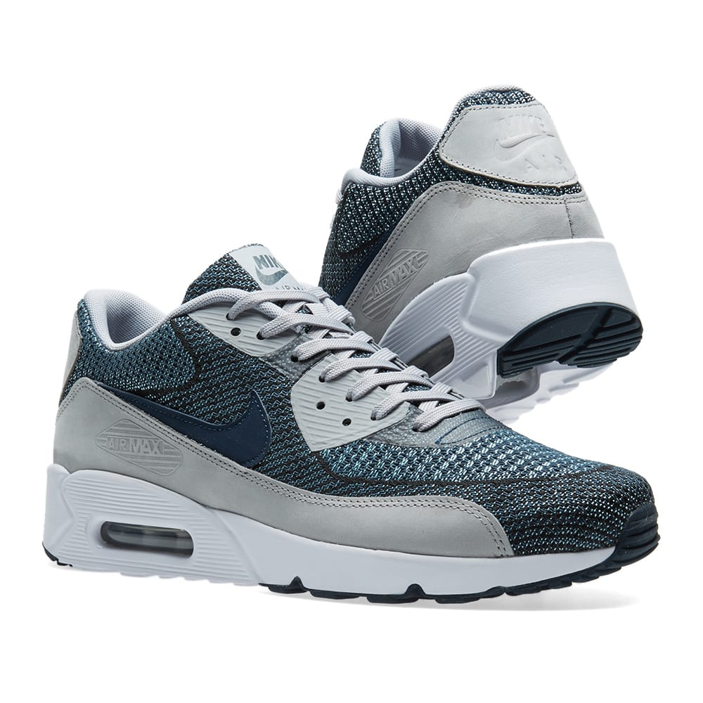 Nike Air Max 1 Jacquard Wolf Grey Trail Running Shoes For