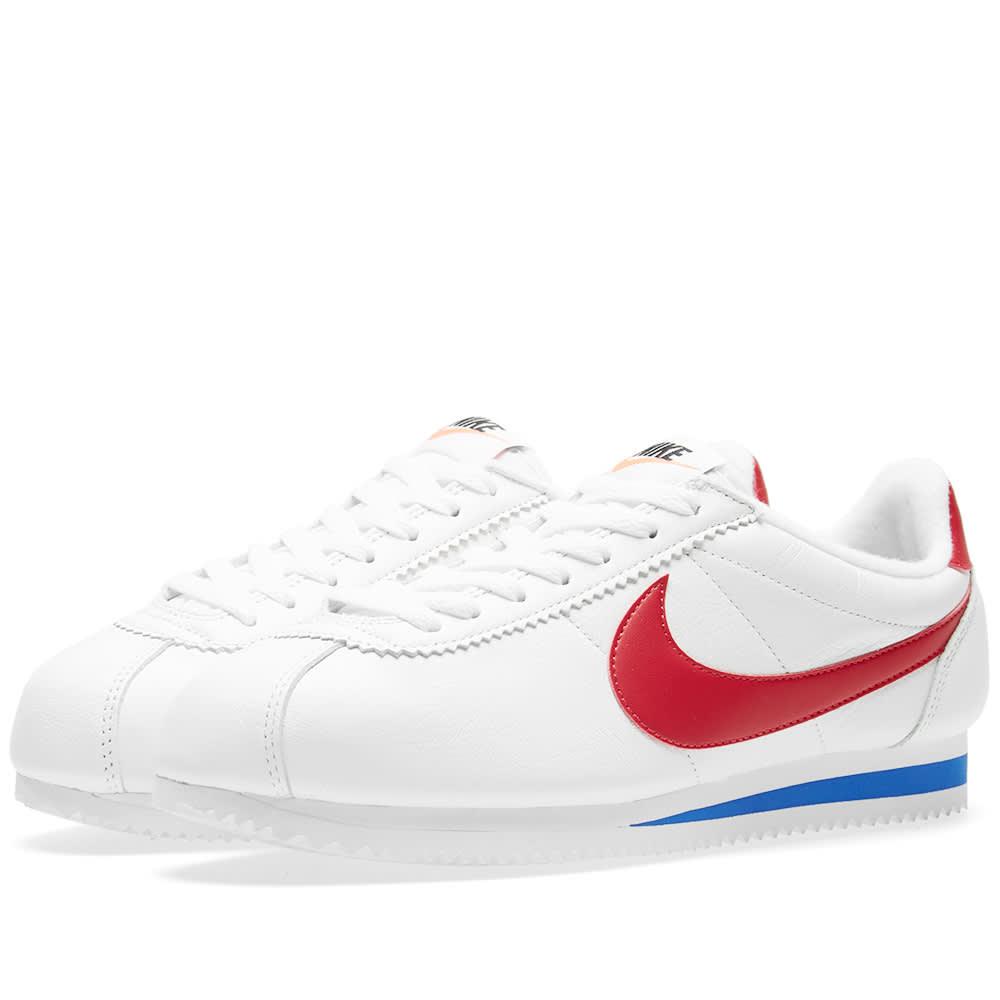 size 40 8ed52 54543 Nike Classic Cortez SE White, Red & Royal | END.