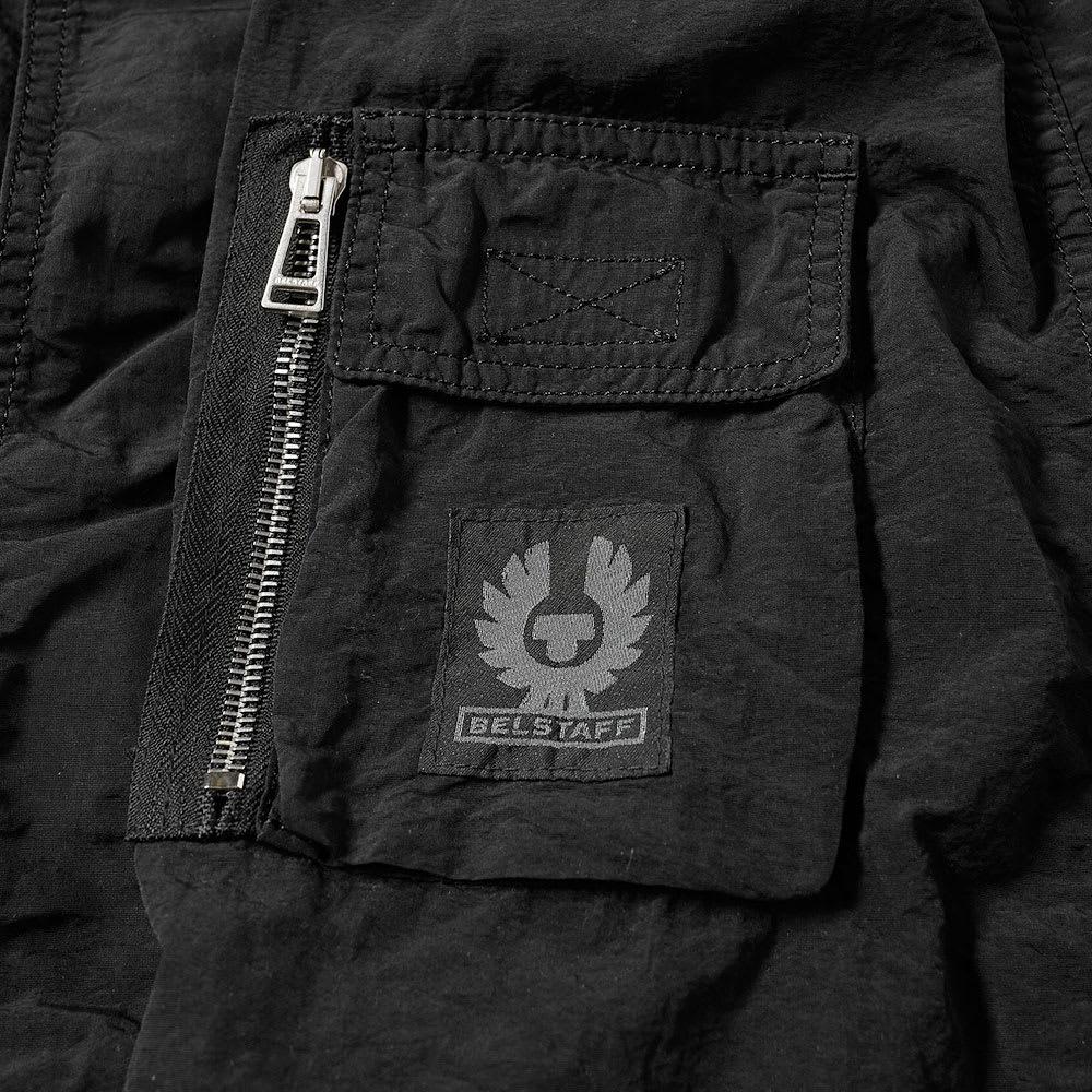 6964f9cb22 Belstaff Pallington Garment Dyed Nylon Jacket Black | END.