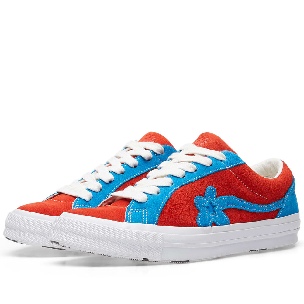 b28013edfc67 Converse x Golf Le Fleur Two Tones Lava   White Blue