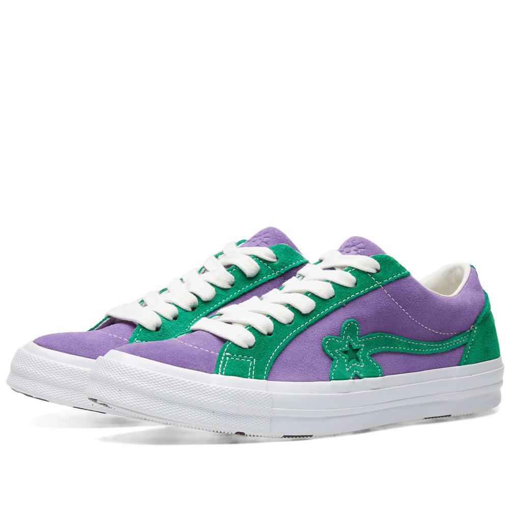Desconexión Cuerpo escarcha  Converse x Golf Le Fleur Two Tones Purple Heart & Jolly Green | END.