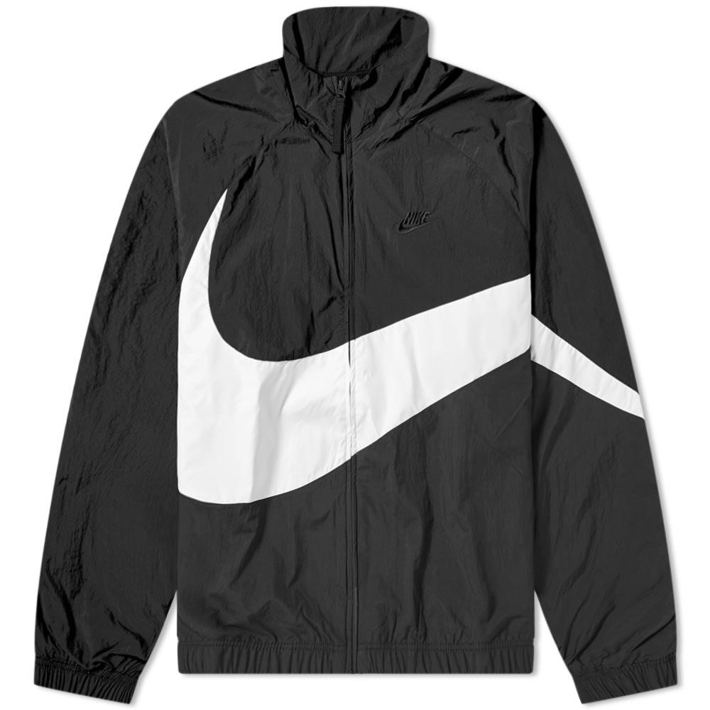 Nike Big Swoosh Woven Jacket Black