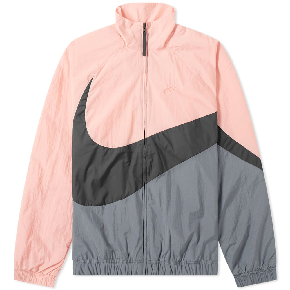 Nike Big Swoosh Woven Jacket Pink Gaze