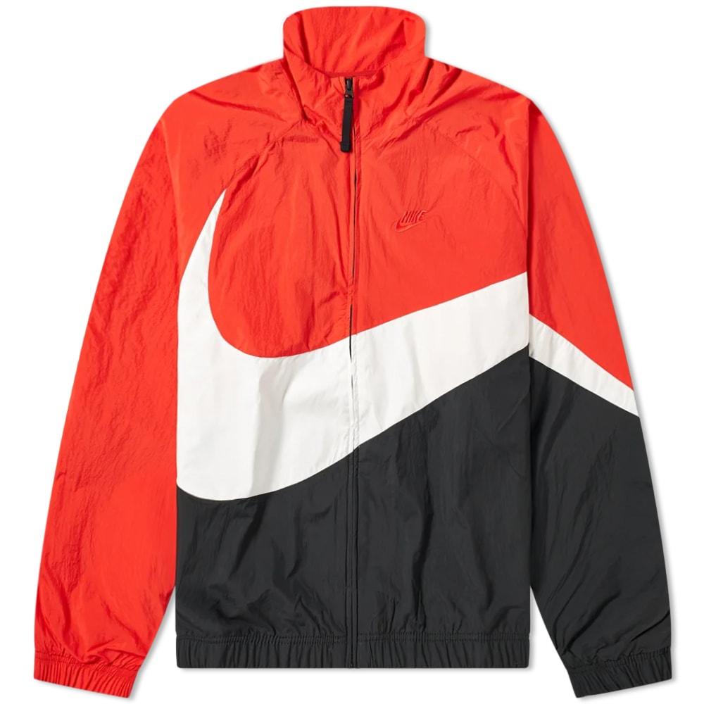 nike coat red