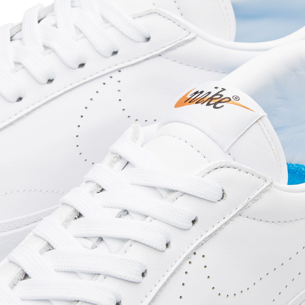 best sneakers 2cb97 b27d3 Nike W x Fragment Design Zoom Tennis Classic AC White   Photo Blue   END.