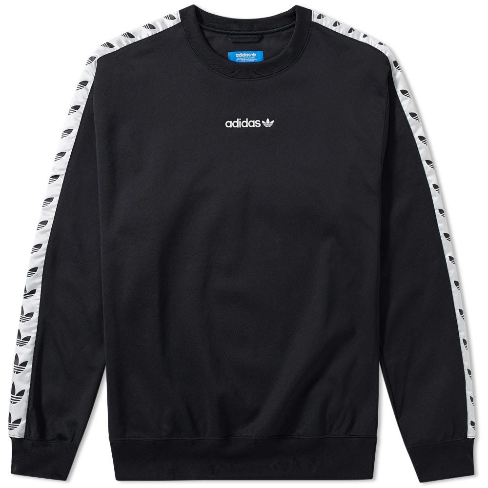Adidas Tnt Tape Sweatshirt Black Women Adidas Outlet