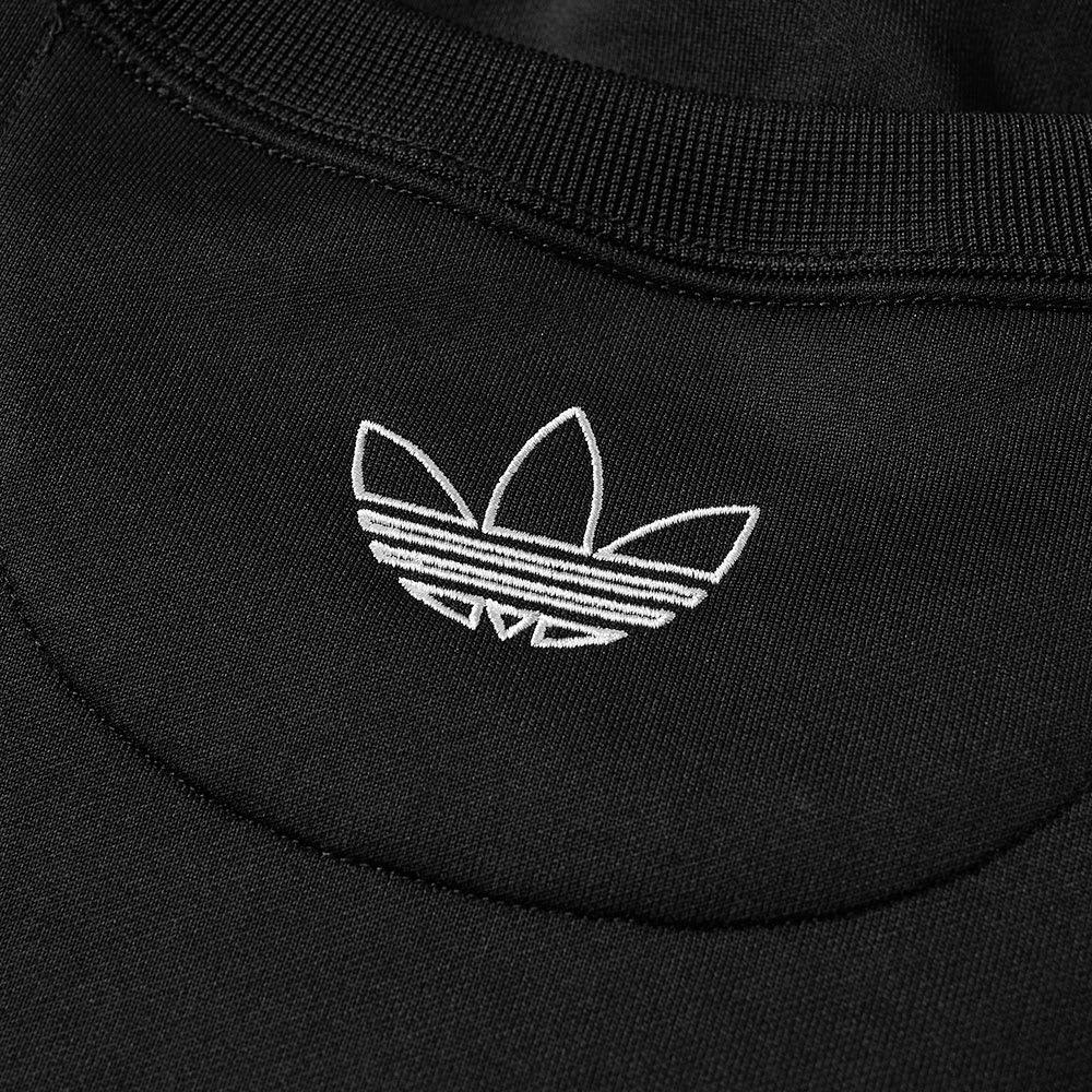 NEW MEN'S ADIDAS Originals Tnt Tape Crew Sweatshirt [Br6748] BlackWhite