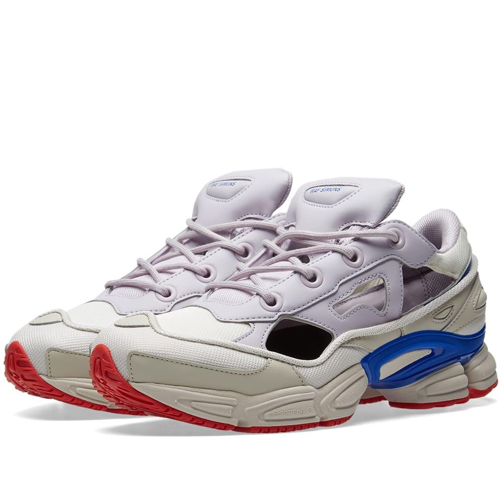 sale retailer 35a1a 4c5bf Adidas x Raf Simons Replicant Ozweego US White   Lilac   END.