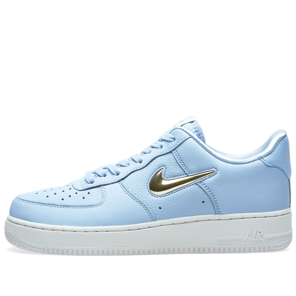 half off 06ae5 af654 Nike Air Force 1  07 Premium LX W Royal Tint, Gold Star   White   END.