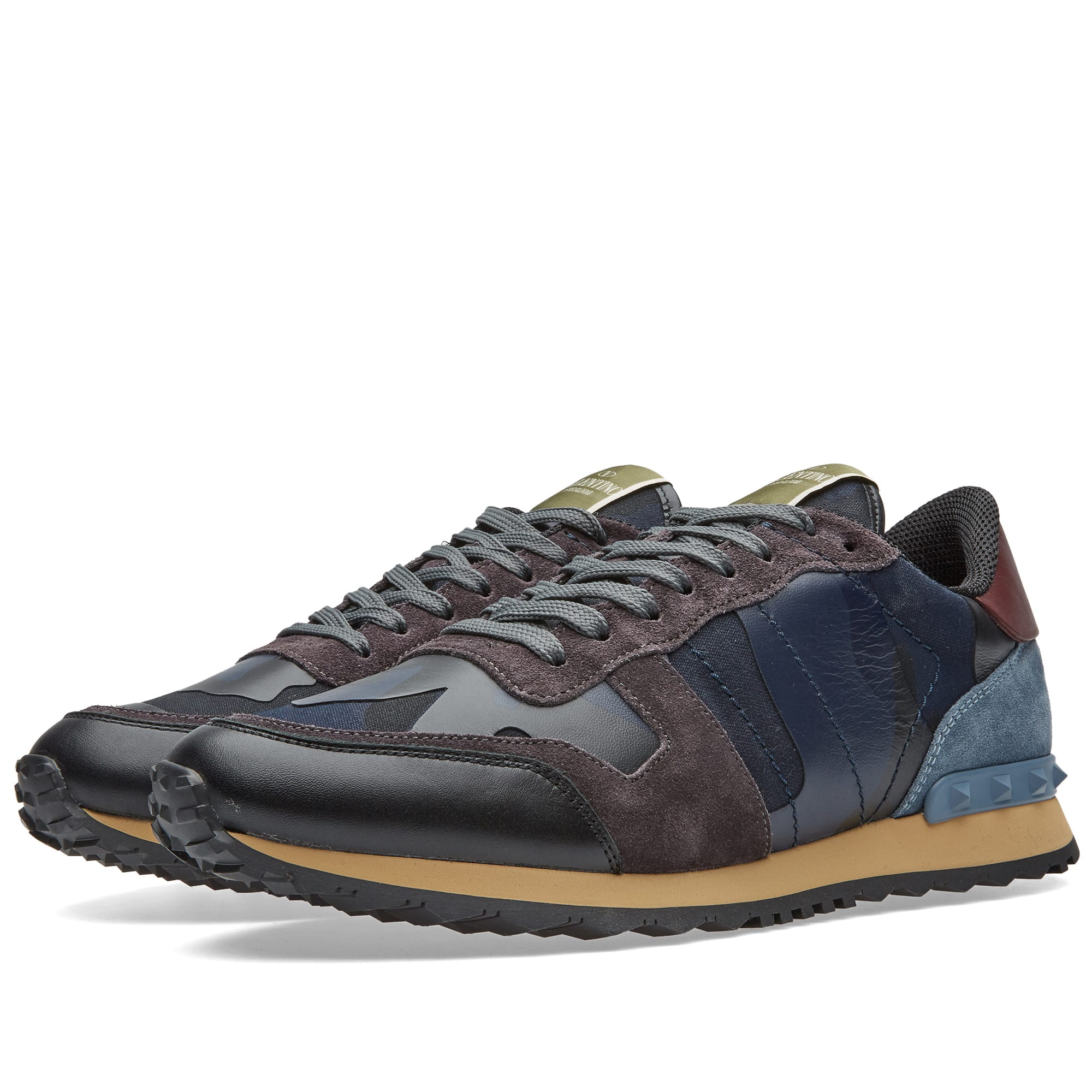 Valentino Rockrunner Sneaker Navy | END.