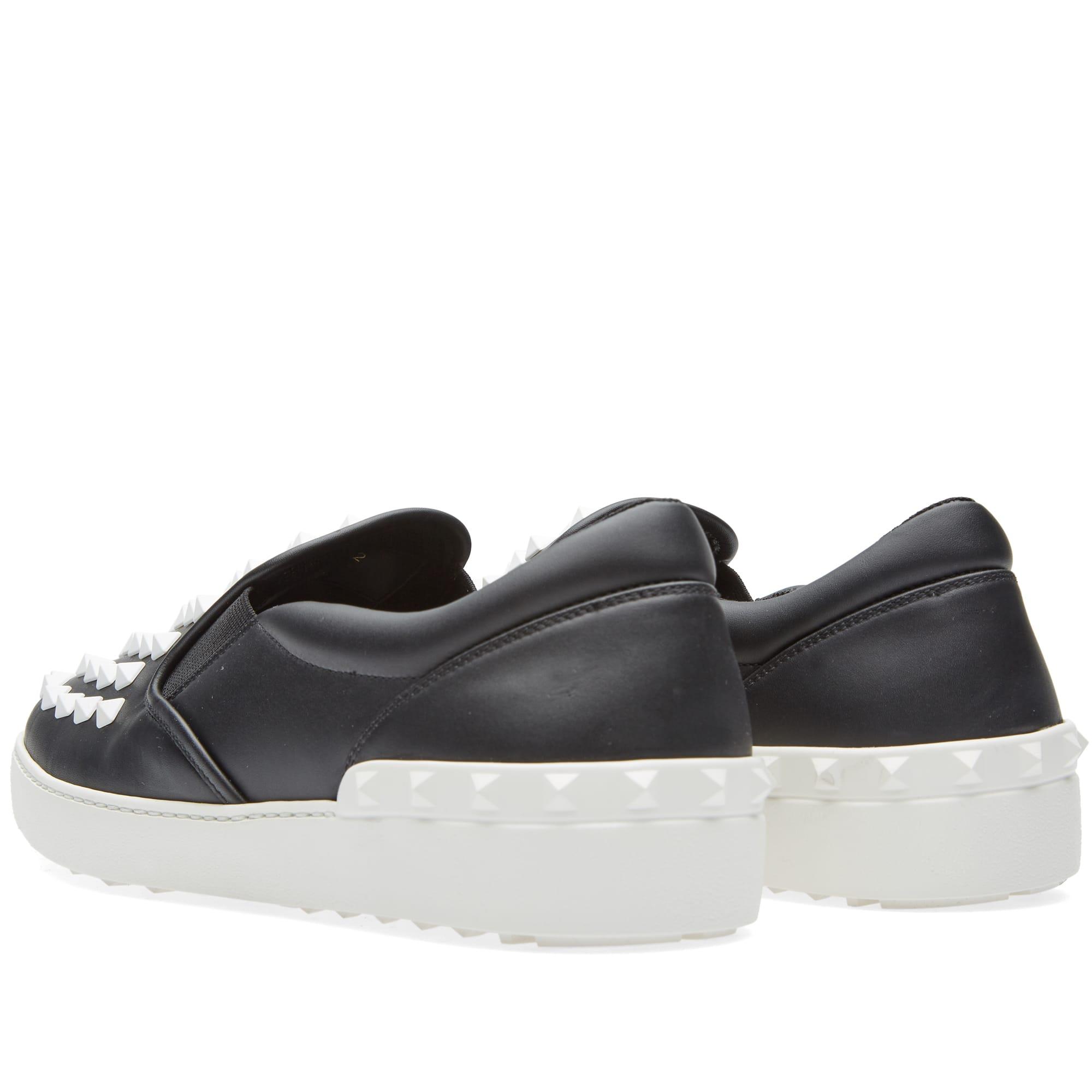 Valentino Slip On Sneaker Black \u0026 White