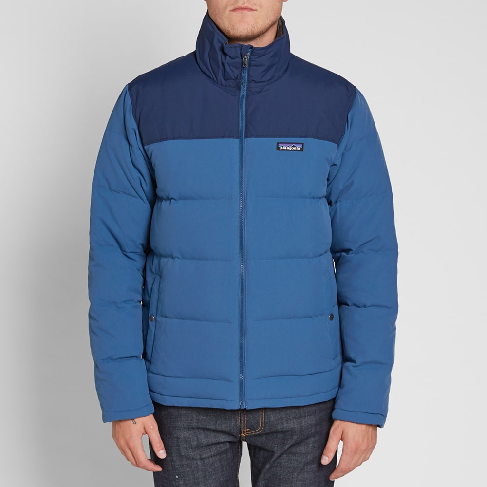 Patagonia Bivy Down Jacket Glass Blue