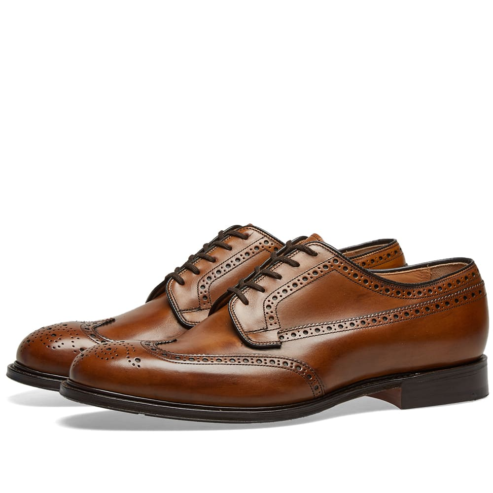 Church's Thickwood Longwing Brogue In Brown