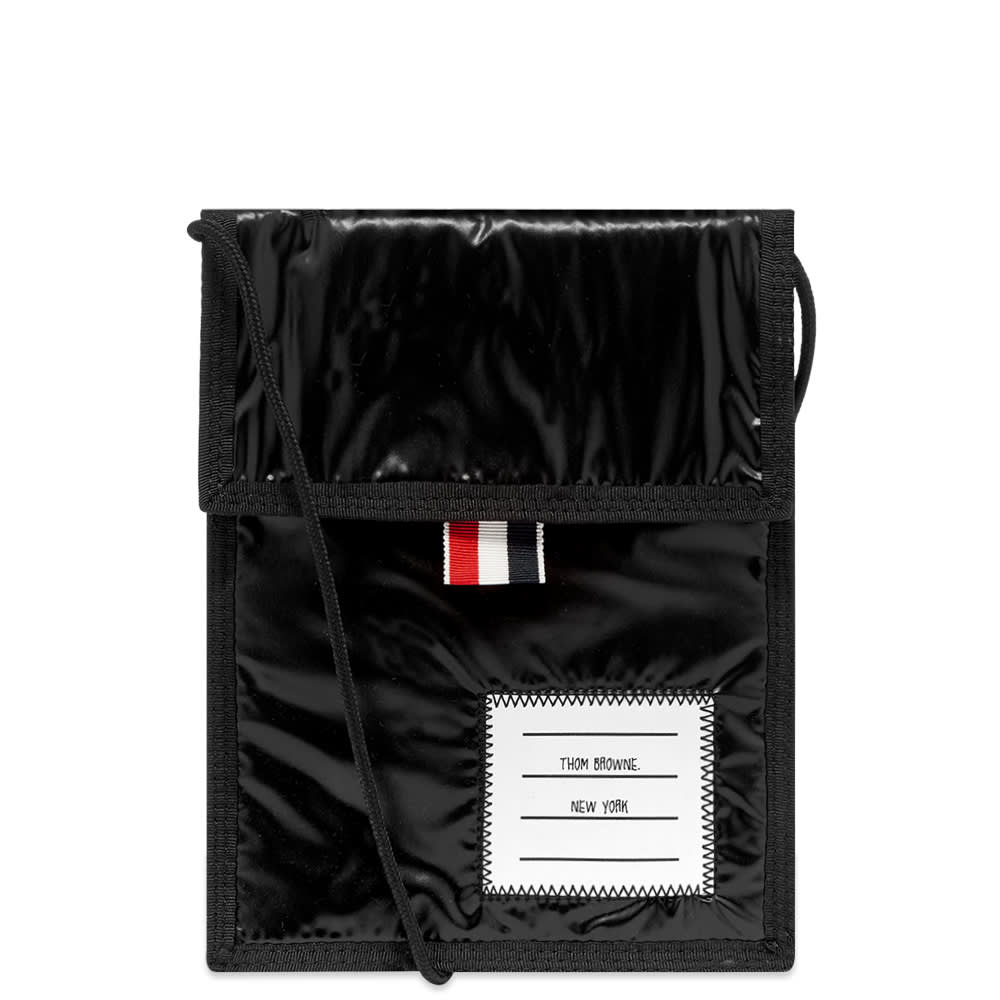 Thom Browne Thom Browne Velcro Drawcord Neck Pouch