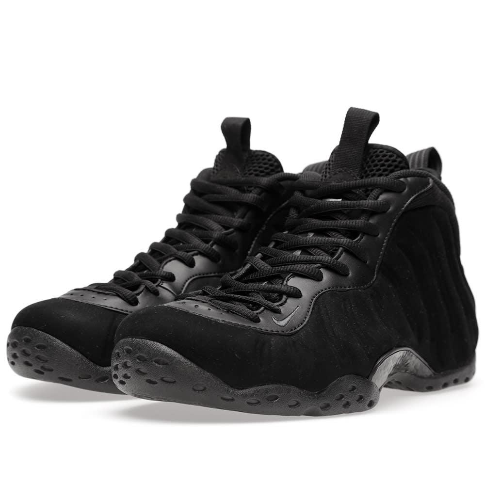 new arrival 0c2c5 de408 Nike Air Foamposite One PRM  Triple Black  Black   END.