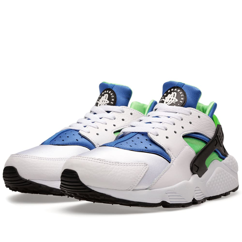 NIKE AIR HUARACHE SCREAM GREEN