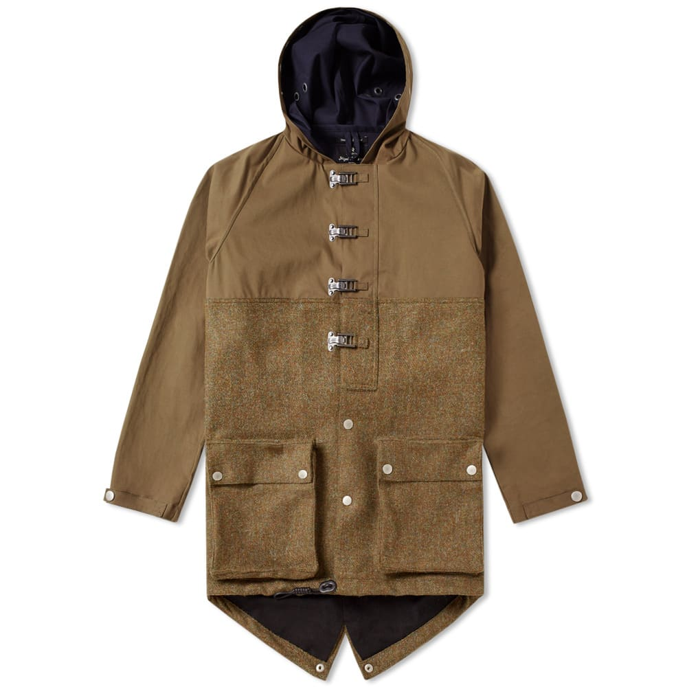 NIGEL CABOURN AUTHENTIC CAMERAMAN FISHTAIL SPLIT PARKA