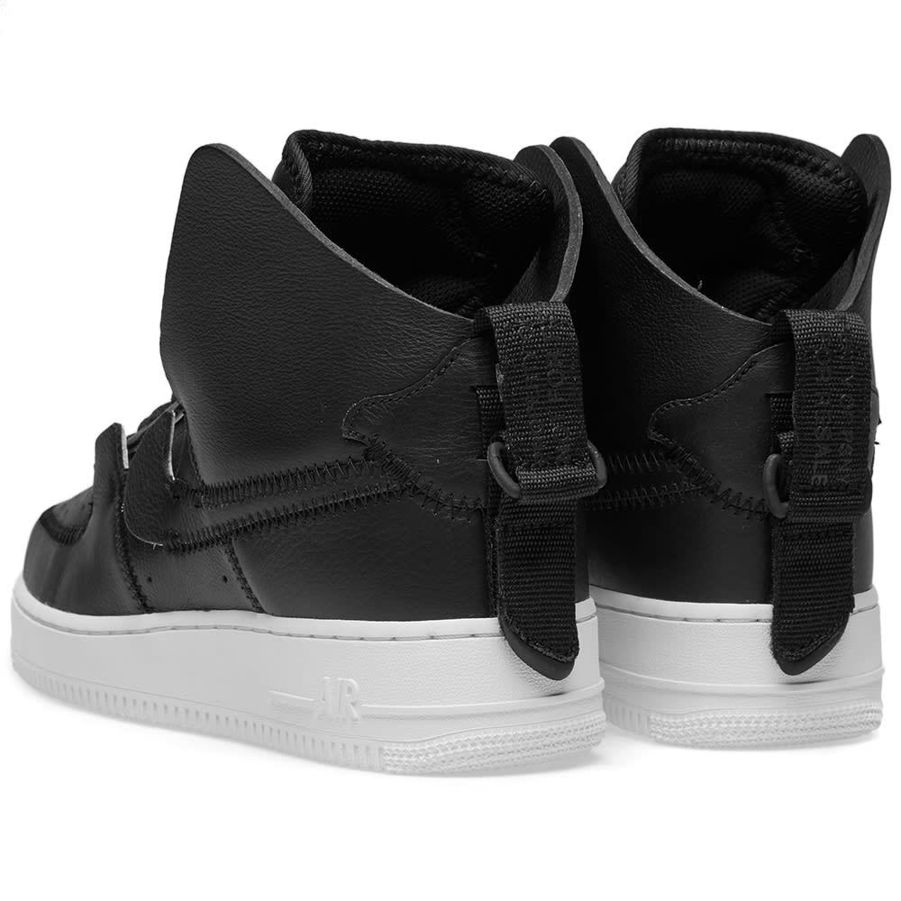 on sale cea19 500cb Nike Air Force 1 High PSNY Black   Sail   END.
