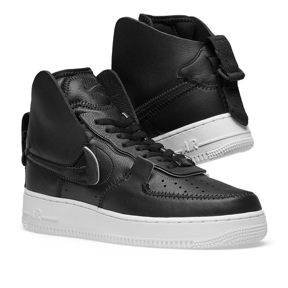 brand new efdad 14e87 Nike Air Force 1 High PSNY. Black   Sail