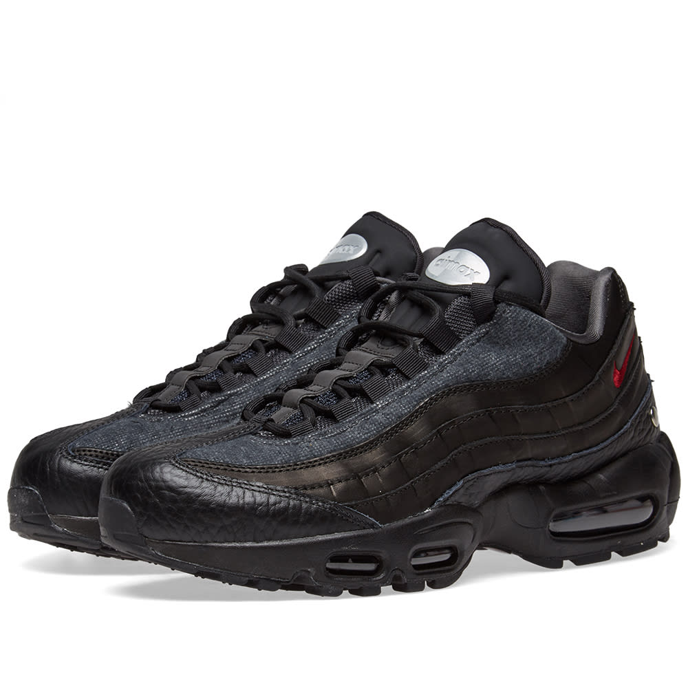 sale retailer 7e3e8 80c1f Nike Air Max 95 NRG Black, Red   Anthracite   END.