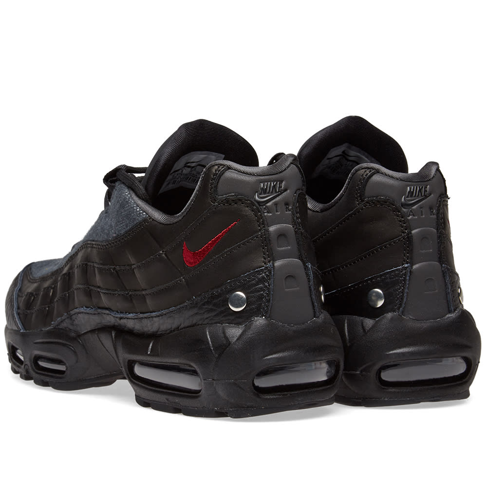 sale retailer eb97d 0ce81 Nike Air Max 95 NRG Black, Red   Anthracite   END.