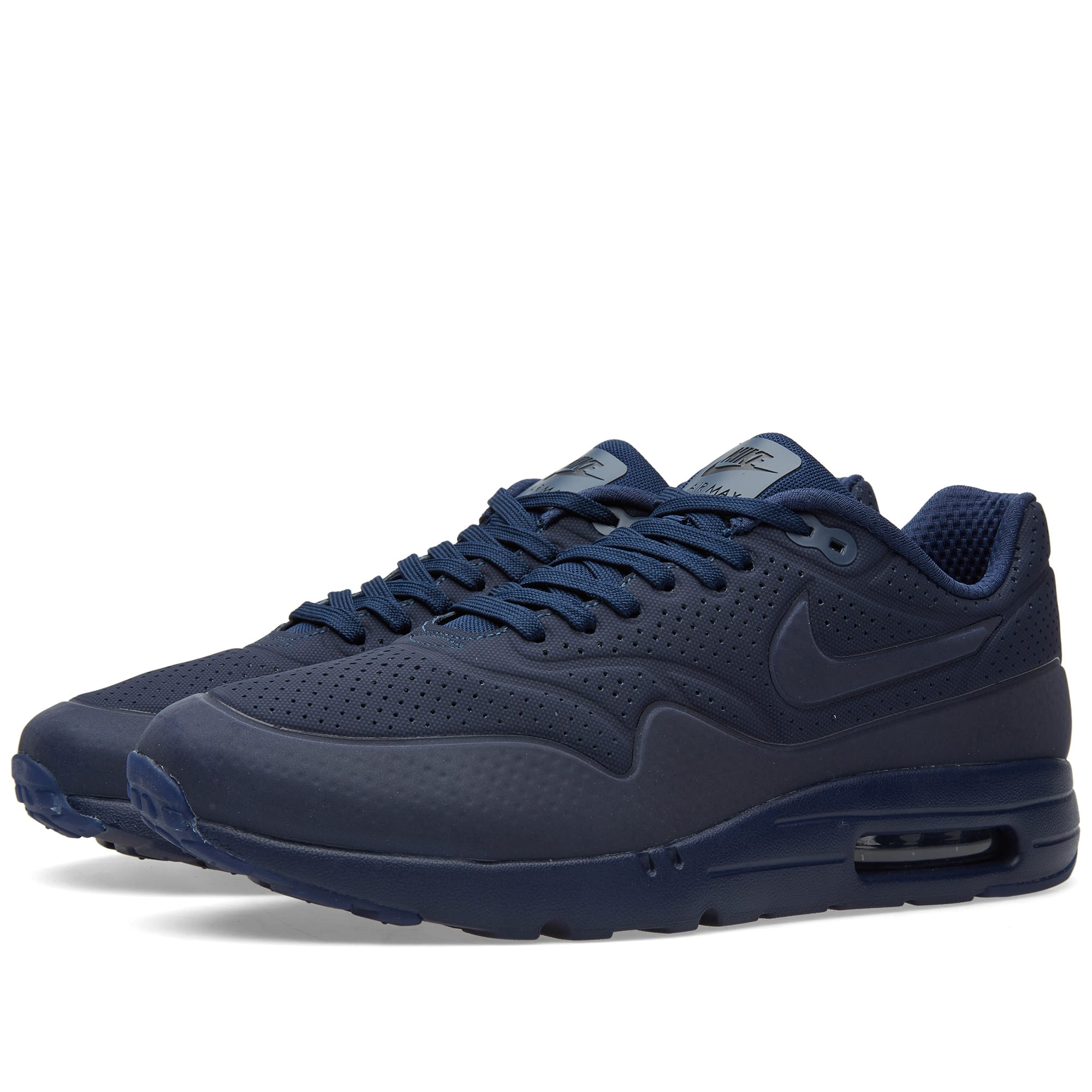 the latest 39809 a38ce Nike Air Max 1 Ultra Moire Midnight Navy & Black | END.