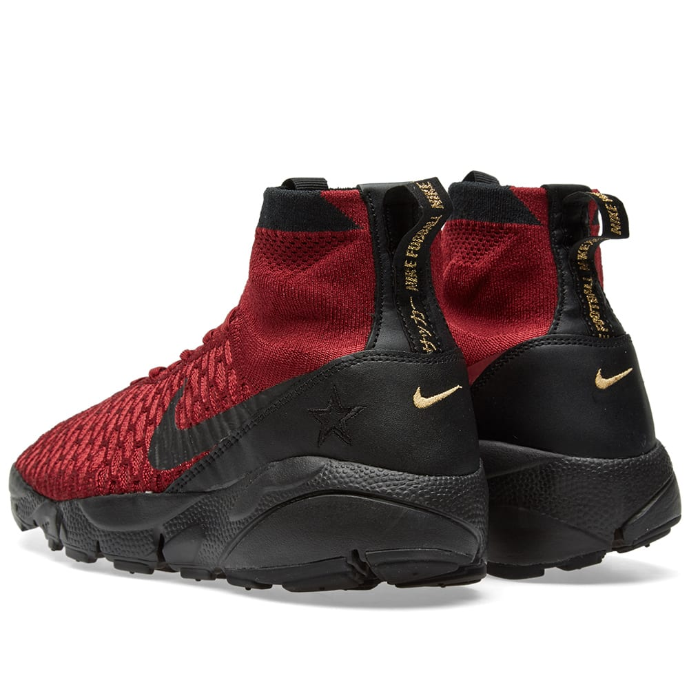 sale retailer 8af80 3bc6e Nike Air Footscape Magista Flyknit FC Team Red   Black   END.