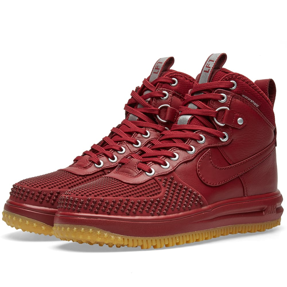 brand new 9158d ffbde Nike Lunar Force 1 Duckboot Team Red   Gum   END.