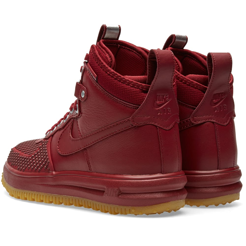 ffb3fba8e245 Nike Lunar Force 1 Duckboot Team Red & Gum | END.