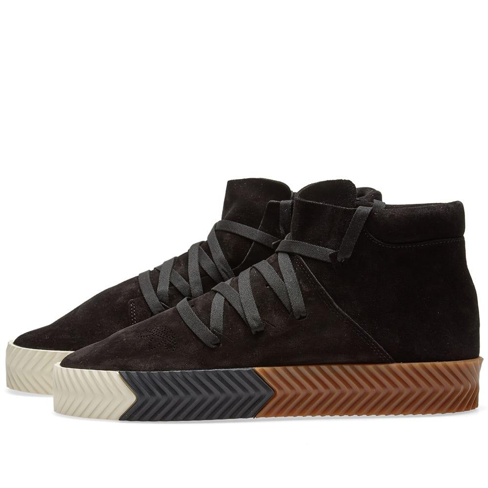 362c1d57b95 Adidas Originals by Alexander Wang Skate Mid Black | END.