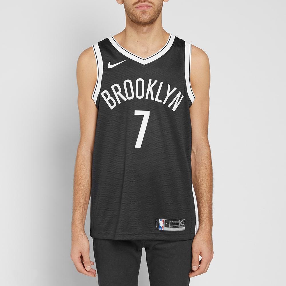 best sneakers 2441d dbae1 Nike Brooklyn Nets Swingman Road Jersey