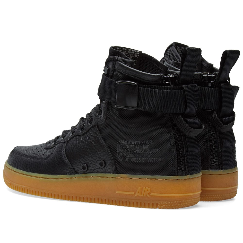 SF Air Force 1 Black Gum