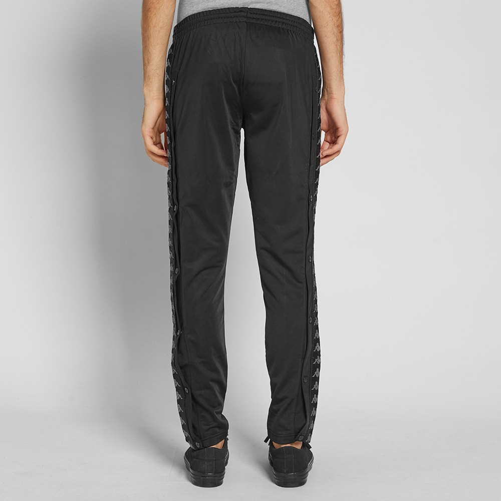 c8922dbbeb8e4f Kappa Banda Astoria Snap Slim Track Pant Black   Grey