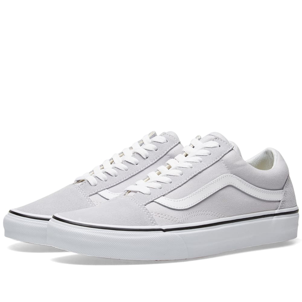 Vans Old Skool Grey Dawn \u0026 True White