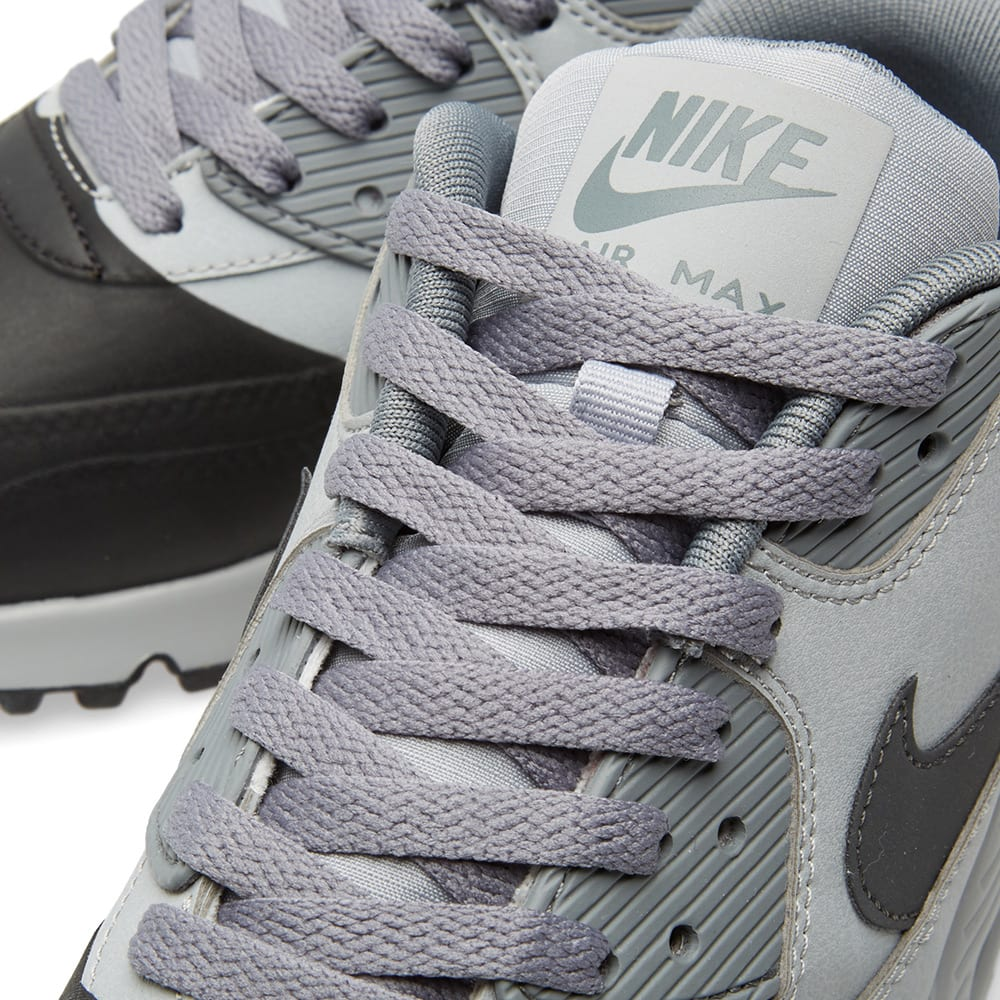 sports shoes 823d9 76988 Nike Air Max 90 Premium SE Wolf Grey   Anthracite   END.