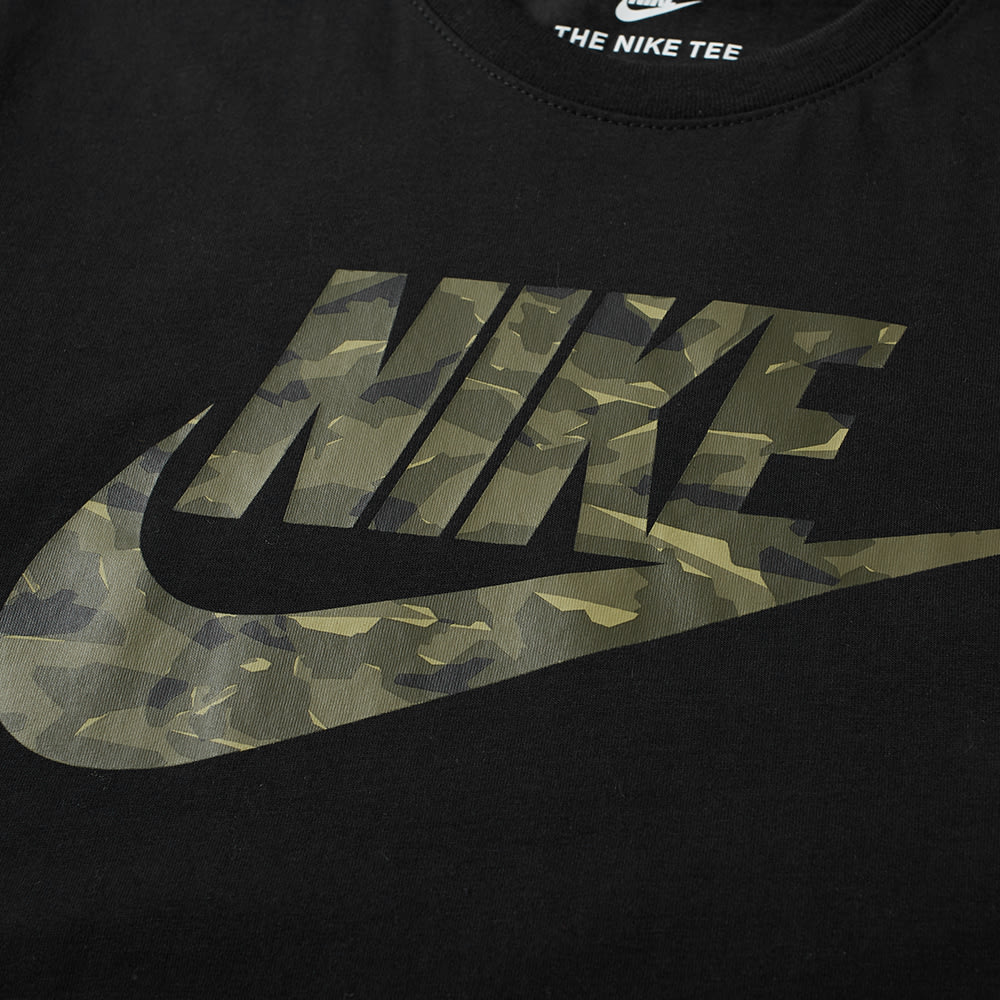 bdc28a07 Nike Camo Pack 2 Tee Black & Neutral Olive   END.