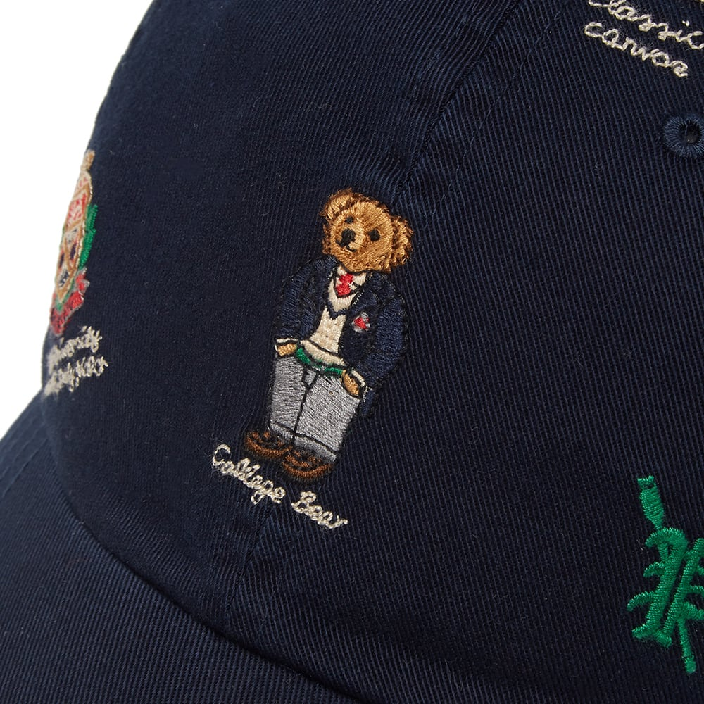 2450437fa6c5d Polo Ralph Lauren Bear Embroidery Cap Navy